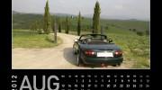 MX-5 Kalender 2012 | August
