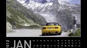 MX-5 Kalender 2012 | Januar