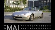 MX-5 Kalender 2012 | Mai ORIGINAL