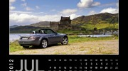MX-5 Kalender 2012 | Juli