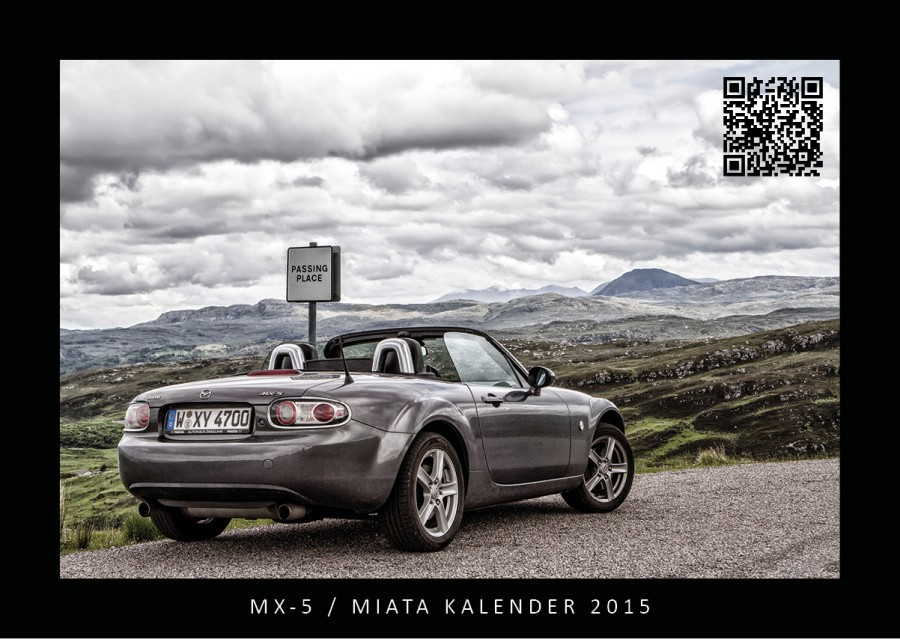 MX-5 / Miata Kalender 2015